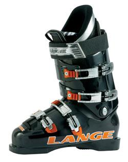 '07 Lange World Cup 120 HP Race Stock Ski Boots Black