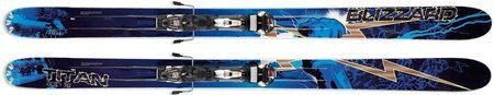 '09 Blizzard Titan Zeus Big Mountain Skis w/IQ FR 16 Binding