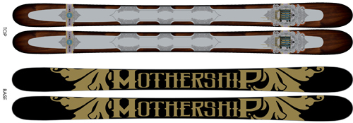 '10 Line Mothership Big Mountain Skis