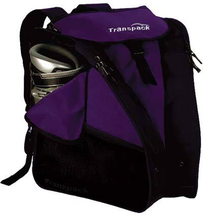 Transpack XTW Women's Ski Boot Backpack Purple