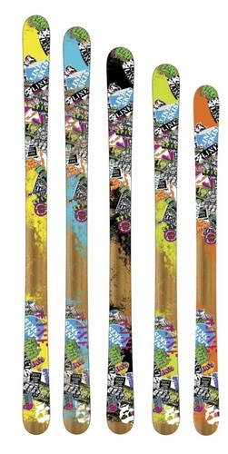 '13 Line Afterbang Freestyle Skis