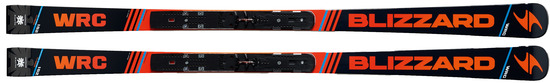 '17 Blizzard WRC Racing Skis w/Marker WC Piston Plate