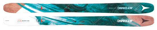 '18 Atomic Backland FR 102 Women's All Mountain Freeride Skis