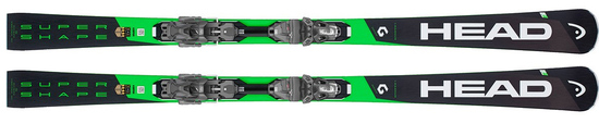 '19 Head i.Supershape Magnum Pro Skis w/PRD 12 Binding