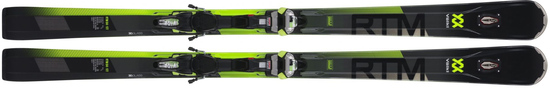 '19 Volkl RTM 84 UVO All Mountain Skis w/WR XL 12.0D Bindings