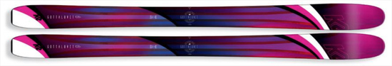 '19 K2 Gottaluvit 105 Ti Women's Freeride Powder Skis