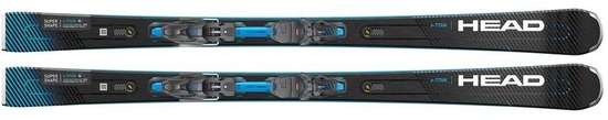 '21 Head Supershape e-Titan Pro Skis w/PRD 12 GW Bindings