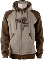 '09 Armada Crow Zip Hooded Fleece