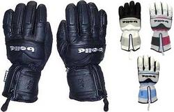 Bolle 100% Leather Padded Ski Gloves
