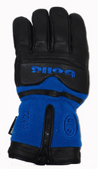 Bolle Men's Fleece and Leather Ski Gloves