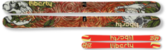 '15 Liberty Double Helix Freeride/Powder Skis