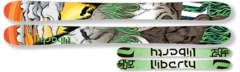 '15 Liberty Genome Powder Skis