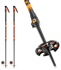 '18 Rossignol Freeride Pro Telescopic Adjustable Ski Poles