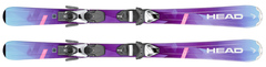 '19 Head Joy SLR 2 Junior Skis w/SLR 4.5 Bindings