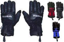 Bolle Ladies Fleece and Leather Ski Gloves